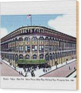 Brooklyn - New York - Flatbush - Ebbets Field - 1928 Wood Print