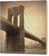 Brooklyn Nostalgia II Wood Print