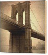 Brooklyn Nostalgia Wood Print