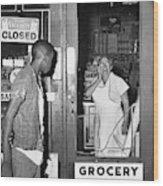 Brooklyn Riots, 1964 Wood Print