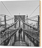 Brookyln Bridge  Wood Print