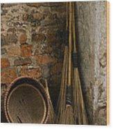 Brooms   #0112 Wood Print