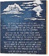 Brotherhood Of The Sea Wood Print