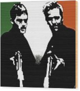 Brothers Killers And Saints Wood Print