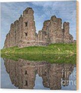 Brough Castle Wood Print