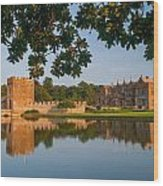 Broughton Castle Wood Print