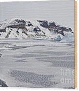 Brown Bluff, Antarctica Wood Print