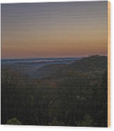 Brown County State Park Nashville Indiana Sunrise Wood Print