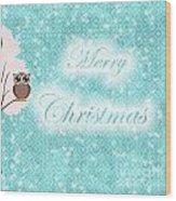 Christmas Card 7 Wood Print