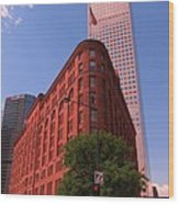 Brown Palace Hotel In Denver Colorado Wood Print
