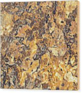 Brown Stone Abstract Wood Print