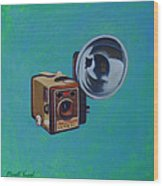 Brownie Box Camera Wood Print
