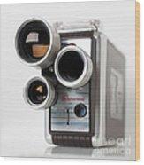 Brownie Movie Camera Wood Print