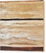 Browns Thru White Tones Wood Print by Marsha Heiken