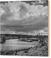 Brownsmead Panorama Wood Print