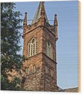 Brownstone Church Wood Print