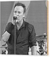 Bruce Springsteen 14 Wood Print