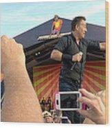 Bruce Springsteen 15 Wood Print