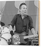 Bruce Springsteen 3 Wood Print