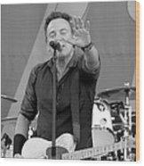Bruce Springsteen 5 Wood Print