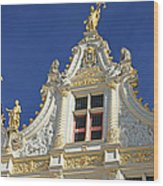 Bruges Architecture Wood Print