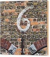 Brugge Detail Wood Print
