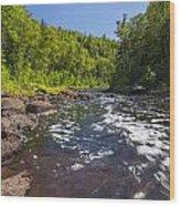 Brule River 1 Wood Print