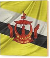 Brunei Flag Wood Print