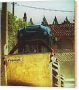 Brunello Taxi Wood Print