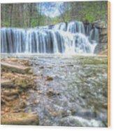 Brush Creek Falls Located In West Virginia Wood Print