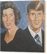 Bryan And Gina Wood Print