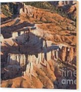 Bryce Canyon From The Air Wood Print