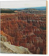 Bryce Canyon In The Afternoon Wood Print
