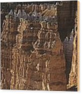 Bryce Canyon National Park Hoodo Monoliths Sunset From Sunrise P Wood Print