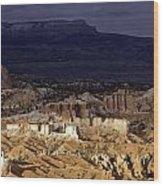 Bryce Canyon National Park Hoodo Monoliths Sunset Southern Utah  Wood Print