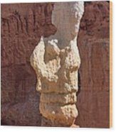 Bryce Canyon Rock Formation Wood Print