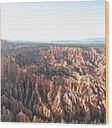 Bryce Canyon Scenic Overlook Wood Print