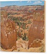 Bryce Canyon Valley Walls Wood Print
