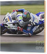 Bsb Superbike Rider John Hopkins Wood Print