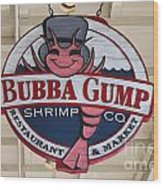 Bubba Gump Shrimp Co. Wood Print