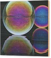 Bubble Spectacular Wood Print