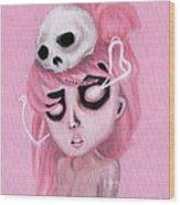 Bubblegum Pink Wood Print
