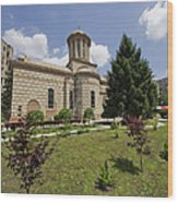 Bucharest Church Wood Print