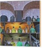 Buckets And Jugs Wood Print
