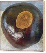 Buckeye Wood Print