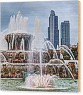 Buckingham Fountain #1 Wood Print