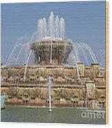 Buckingham Fountain - Chicago Wood Print