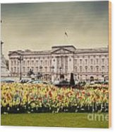 Buckingham Palace In London Uk Wood Print