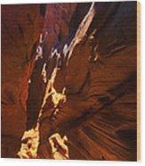 Buckskin Gulch 18 Wood Print