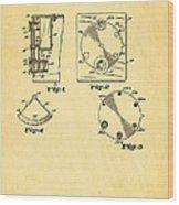 Bucky Einstein Auto Exposure Camera Patent Art 1936 Wood Print